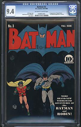 vintage comics (high priced)